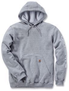 Afbeelding van Carhartt hooded sweater grijs