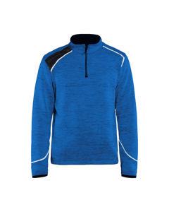 Afbeelding van Blaklader zipsweater 4943 korenblauw