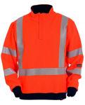 Afbeelding van Sweater tranemo vlamvertragend oranje  2XL