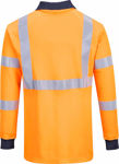 Afbeelding van Poloshirt vlamvertragend oranje   L