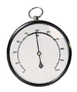 Afbeelding van Haar hygrometer      diam.85mm