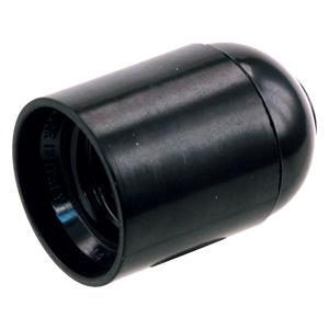 Afbeelding van Fitting glad zwart e27