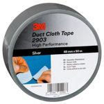 Afbeelding van 3m duct tape 2903 zilver 48 mm x 50 meter