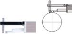 Afbeelding van Mitutoyo puntcontact adapter