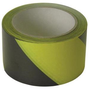 Afbeelding van Afzetband geel/zwart zelfklev  60mm