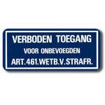 Afbeelding van Bord alu dor art.461 20x60 cm