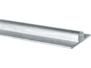 Afbeelding van Aluminium schuifdeurrail massief