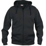 Afbeelding van Clique hooded vest zwart