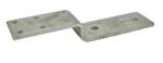 Afbeelding van Gb vloer-kozijnstrip 110 x 25 x 155 mm, 60 x 8, thermisch verzinkt