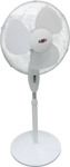 Afbeelding van Kelfort ventilator, 440 mm, 45W., op statief, wit