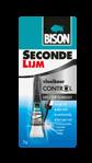 Afbeelding van Bison secondenlijm vloeibaar control, 3 gram