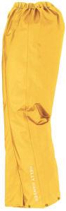 Afbeelding van Helly hansen regenbroek voss geel