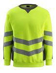 Afbeelding van Mascot sweatshirt wigton fluor geel/donker antraciet