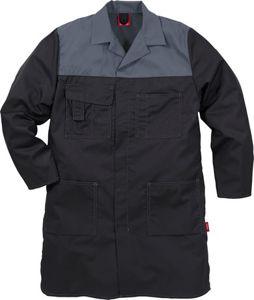 Afbeelding van Fristads stofjas icon zwart/grijs XL