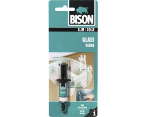 Afbeelding van Bison glas-metaallijm, 2 ml