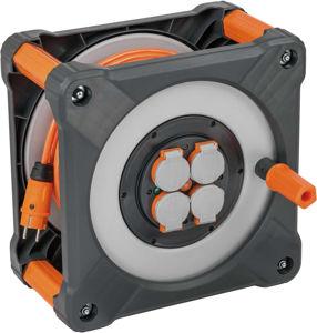 Afbeelding van Brennenstuhl Cube kabelhaspel 33 meter H07BQ-F 3G1,5mm2  IP44