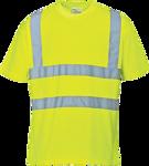 Afbeelding van Portwest t-shirt s478 fluor geel