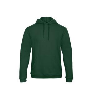 Afbeelding van B&c hooded sweater id.203 flessengroen L