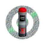 Afbeelding van Pro-paint krijtspray rood 500ml