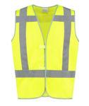 Afbeelding van Bestex rws veiligheidsvest geel 2XL-3XL