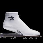 Afbeelding van Solid gear lage sokken 2-pack wit 39/42