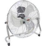 Afbeelding van kelfort ventilator chroom 51cm 160W