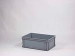 Afbeelding van E-line kunststofbak grijs 175 liter