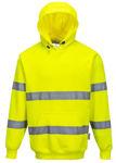 Afbeelding van Portwest hooded sweater fluor geel