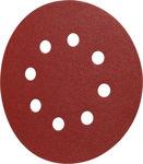 Afbeelding van Kelfort klitschuurschijf rood 8 gaten 125mm
