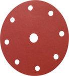Afbeelding van Kelfort klitschuurschijf rood 9 gaten 150mm