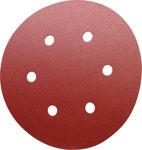 Afbeelding van Kelfort klitschuurschijf rood 6 gaten 150mm