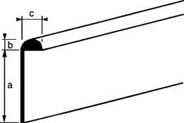 Afbeelding voor categorie Tafelrandprofielen