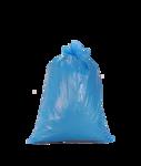 Afbeelding van Dimensio Afvalzak LDPE blauw T70 80x110cm